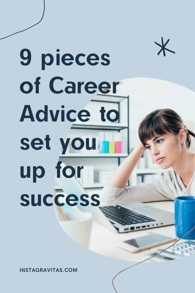 Career development advice for women