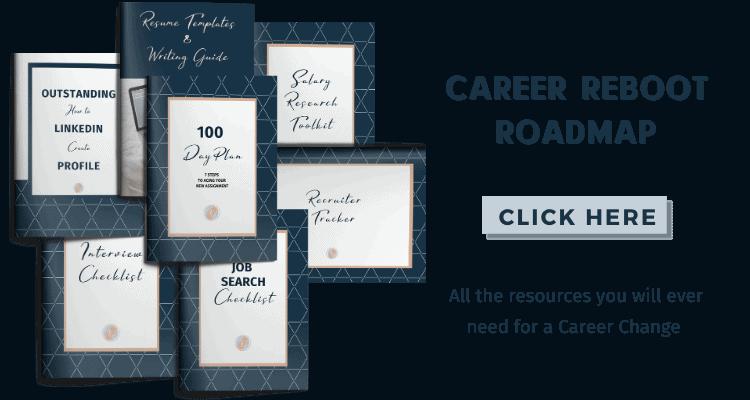 Career reboot roadmap freebie