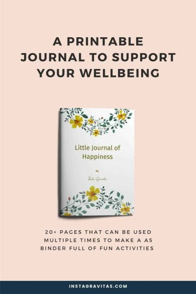 Wellbeing journal freebie 4