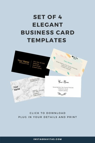 business cards and visiting cards freebie 8